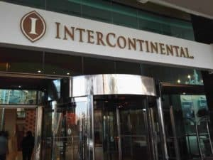 Inter Continental Hotel Eingang
