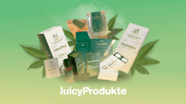 Juicy Fields product catalog on the market